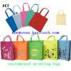 Action personnalisée promotionnelle non tissée Kxt-Wb04 de logo de sac à provisions