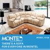 現代ホーム家具のリクライニングチェアのコーナーのソファー、角のソファー(K126)