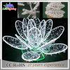 2017 휴일 LED 3D 주제 꽃 옥외 거리 훈장 로터스 빛