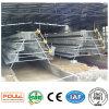 Hot-DIP Gegalvaniseerde Apparatuur van de Kooi van de Kip van de Laag van het Landbouwbedrijf van het Gevogelte