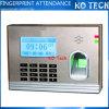 Atención biométrica Ko-M12 del tiempo de la huella digital del TCP/IP de la India