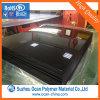 Strato rigido lucido del PVC del nero dei 450 piedi di Mircon 3*6