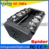 LED Stage Moving Head Spider Light con 8 Eyes