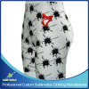 Shorts de compressão esportiva personalizado Sublimation Girl