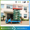 8m a 14m Electric Hyraulic Vehicle Mounted Scissor Elevator Platform