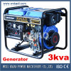 sistema de generador diesel 3kVA (KDE3500E)