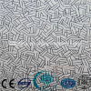 El ácido grabó al agua fuerte el vidrio del vidrio de cristal/helado/arte con el Ce, ISO Sdf031