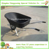 Tray en plastique Wheelbarrow/Wheel Barrow pour le jardin (WB6600) avec Steel Handle