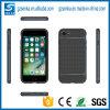 Caja plástica híbrida aplicada con brocha del teléfono de la carpeta de TPU para el iPhone 6plus