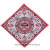 Выдвиженческий подгонянный напечатанный логосом шарф  *22  хлопка 22 головной
