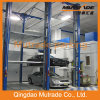 4 Post 3 Floors Hydraulic Car Stacker Parking Lift для автосалона