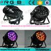 Beruf-kann wasserdichter hohe Leistung NENNWERT 64 18LEDs 10W RGBW im Freienstadiums-lautes Summen LED NENNWERT beleuchten