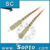 Puente con varios modos de funcionamiento a una cara de la fibra del conector del Sc de la PC del Upc