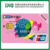 Smart card do PVC RFID do tamanho do crédito Cr80