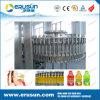 máquina de enchimento quente do suco do frasco do animal de estimação 300ml