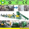 A linha de lavagem tecida produzida experiente do saco para recicl o PE dos sacos dos PP ensaca a película do LDPE
