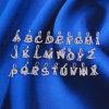 方法宝石類のアルファベットのペンダント
