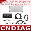 Qualität für HK201 J2534 Vci Diagnostic Tool V15 für Hyundai u. KIA New 2014 Arrival