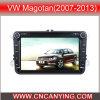 Reprodutor de DVD especial de Car para VW Magotan (2007-2013) 8  com GPS, Bluetooth. com o Internet de Dual Core 1080P V-20 Disc WiFi 3G do chipset A8. (CY-C370)