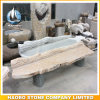 Granite Polished Benches per il giardino Golden Color