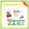 Carte en plastique bon marché d'identification d'étudiant d'IDENTIFICATION RF d'OEM