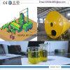 2015 heiße Ölraffinieren-Destillierapparat-Maschinerie des Verkaufs-10tpd überschüssige