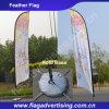 Indicador de playa de la publicidad al aire libre, indicador de la pluma que vuela para la visualización
