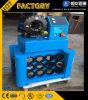 Automatische Cer ISO bespritzen quetschverbindenmaschine mit schnellem Änderungs-Hilfsmittel mit einem Schlauch