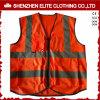 Arancio riflettente poco costoso della maglia di sicurezza dei vestiti di alta qualità su ordinazione (ELTHVVI-15)