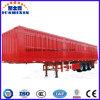 Eixo direto Van incluido/carga em forma de caixa/reboque pesado de serviço público do preço de fábrica 3 do caminhão do trator com fechamentos longos