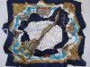 حريري نسيج قطنيّ مربّع وشاح ([فج-001])