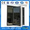 Porte en verre de bâti en aluminium/guichet en verre Tempered coulissant Bifold et porte/Frameless