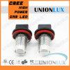 chip 400lm del CREE della lampada LED della nebbia di alto potere di 5W H8