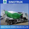 Misturador concreto do caminhão do equipamento de construção com chassi de HOWO