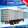 2/3 aluminium Box Dry Van Truck Trailer inclus des essieux 48ft