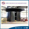Máquina inoxidable decorativa de la vacuometalización de la hoja de acero PVD