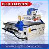 ranurador chino del CNC del vector de funcionamiento de 1200*2400m m, ranurador de madera 1224, maquinaria del CNC del CNC en MDF Arylic del PVC de madera