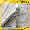 Perfil de aluminio de la protuberancia con la superficie de pulido para la decoración del cuarto de baño