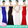 Trägerlose Abend-Kleider der schönen einfachen Abschlussball-Frauen für Hochzeiten