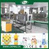Etichettatrice delle bottiglie di acqua del manicotto minerale dello Shrink sotto semiautomatico