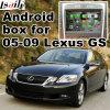 Поверхность стыка автомобиля видео- для 2005-2009 Lexus GS, Android задего навигации и панорамы 360 опционных