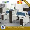 Pared de Partation de la oficina del sitio de trabajo de las personas de los muebles de oficinas 4 del proyecto (HX-6M195)
