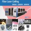 Machine de découpage de laser de fibre de GS de Hans 3000W avec la palette échangeable flexible
