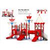Juguetes al aire libre preescolares del diseño del juego de jardín del equipo del centro al aire libre popular profesional del juego para los cabritos