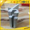 Section en aluminium de profil en aluminium d'extrusion avec les accessoires élevés en aluminium