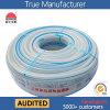 Boyau renforcé de l'eau de fibre tressé par PVC (KSA-16198SSG clairement) 50 yards