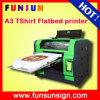 의복 인쇄 기계에 직접 기계를 인쇄하는 고품질 다색 A3 크기 평상형 트레일러 t-셔츠