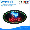 Oval Hidly High Open Bright LED Sign