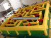 Labirinto interessante dell'aria/gioco gonfiabile mega del labirinto per gli adulti