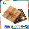 Eco-Frindly Durable Food Grade Paper Gift Box avec Divider Inlay